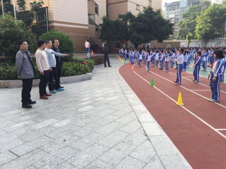 贵州省毕节市海子街小学到景贝小学交流访问